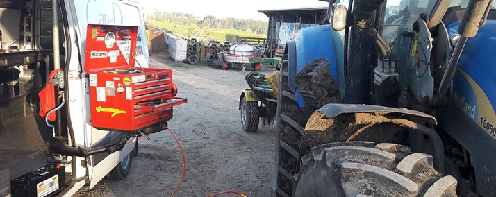 on-site tractor service